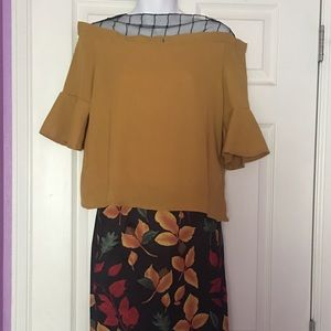Dresses & Skirts - Blouse and skirt outfit size Large